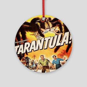 Vintage poster - Tarantula Round Ornament