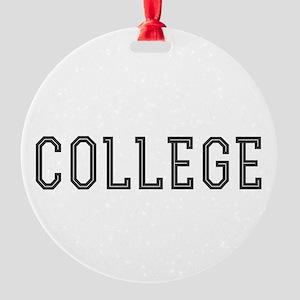 College Ornament