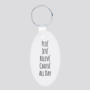 Ballet All Day Keychains