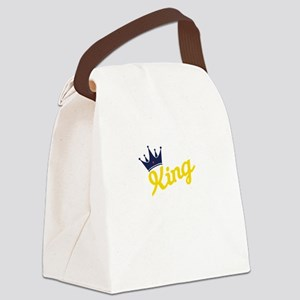 king and quen couple Canvas Lunch Bag