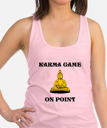 Karma Game On Point Tank Top