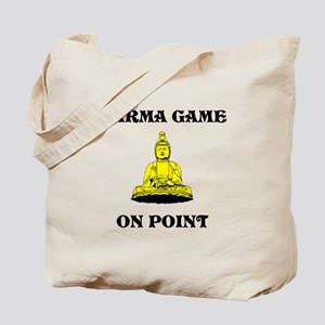 Karma Game On Point Tote Bag