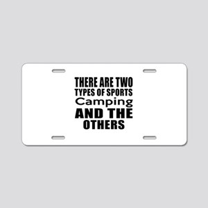 There Are Two Types Of Spor Aluminum License Plate