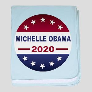 Michelle Obama baby blanket