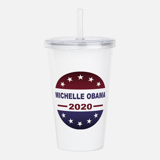 Michelle Obama Acrylic Double-wall Tumbler