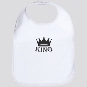 king and queen couple Baby Bib