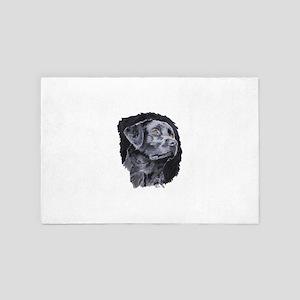 Black Lab 4' x 6' Rug