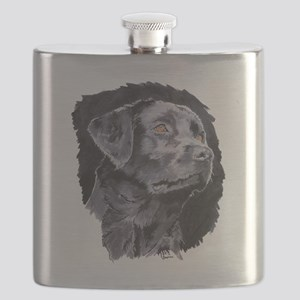 Black Lab Flask