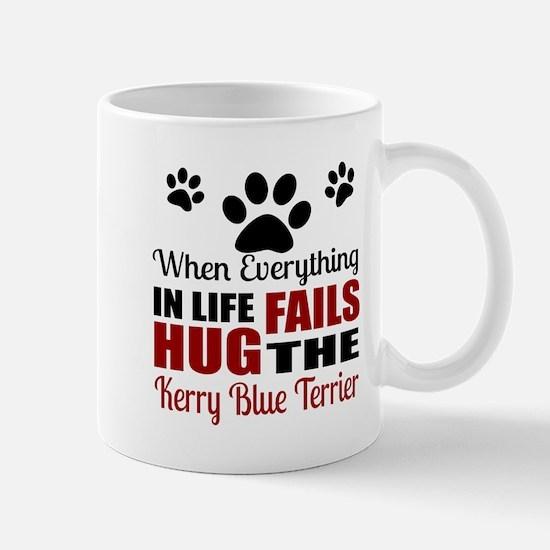 Hug The Kerry Blue Terrier Mug