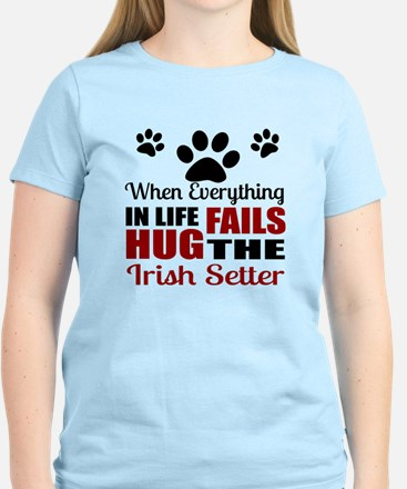 Hug The Irish Setter Women's Light T-Shirt