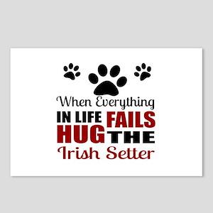 Hug The Irish Setter Postcards (Package of 8)
