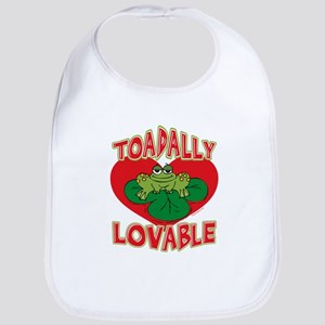 Toadally Lovable Bib