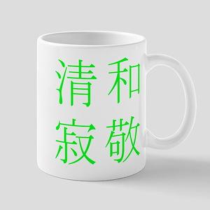 WaKeiSeiJaku Square Mugs