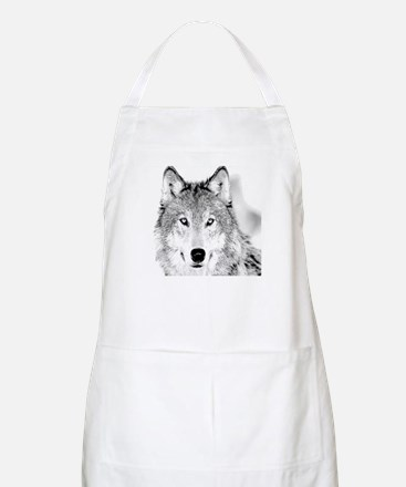 Great White Wolf BBQ Apron