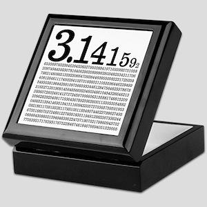 3.1415926 Pi Keepsake Box