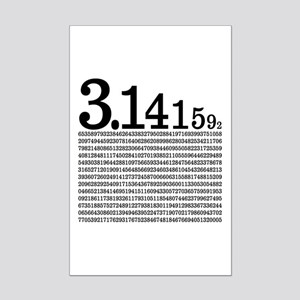 3.1415926 Pi Mini Poster Print