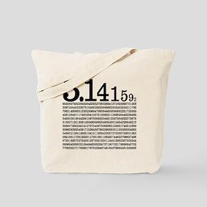 3.1415926 Pi Tote Bag
