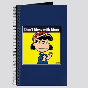 Peanuts Don't Mess With Mom Journal