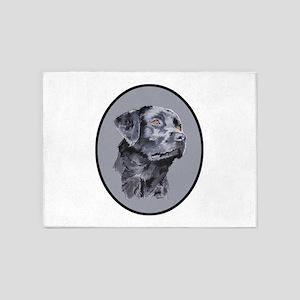 Labrador Retreiver 5'x7'Area Rug