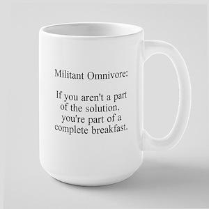 Militant Omnivore Mugs