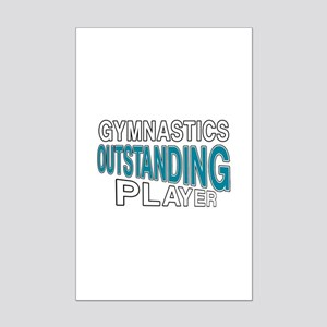 Gymnastics Outstanding Player Mini Poster Print