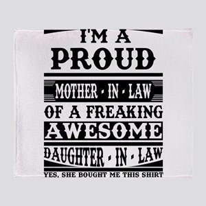 Proud Mother In Law Of A Freaking Awesome Daughter