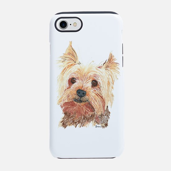 Yorkie iPhone 8/7 Tough Case