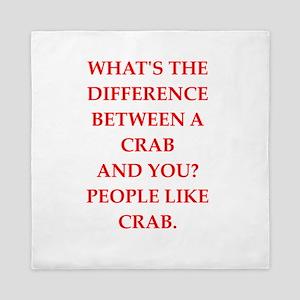 crab Queen Duvet