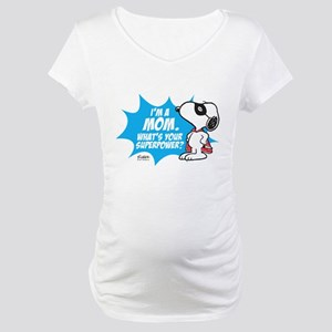 Peanuts Superhero Maternity T-Shirt