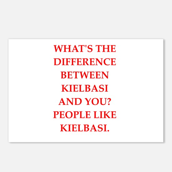 kielbasi Postcards (Package of 8)