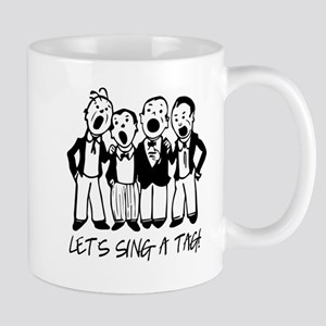 Black and White Quartet Mugs
