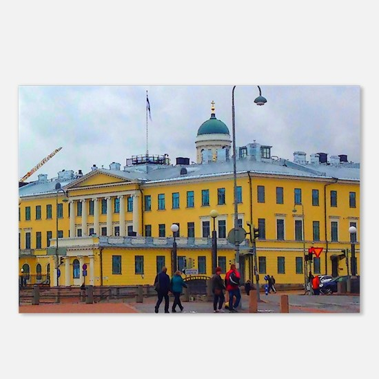 Classical Helsinki Postcards (Package of 8)