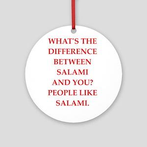 salami Round Ornament