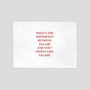 salami 5'x7'Area Rug