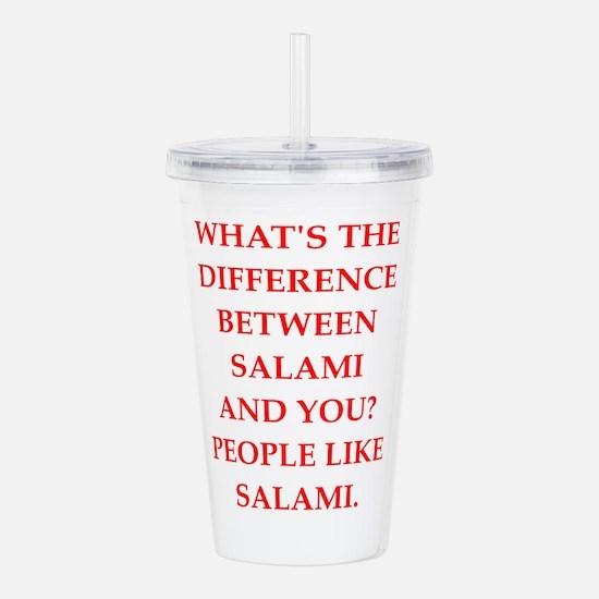 salami Acrylic Double-wall Tumbler