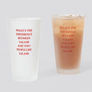 salami Drinking Glass