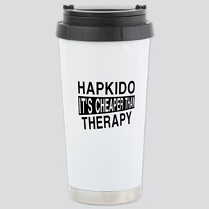 Hapkido It Is Cheaper T Stainless Steel Travel Mug