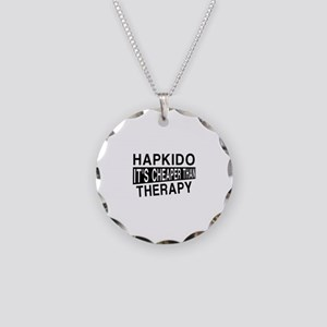 Hapkido It Is Cheaper Than T Necklace Circle Charm