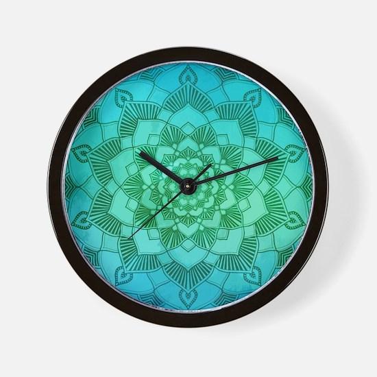 Cute Indian art Wall Clock
