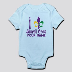 Personalized Mardi Gras gift Body Suit