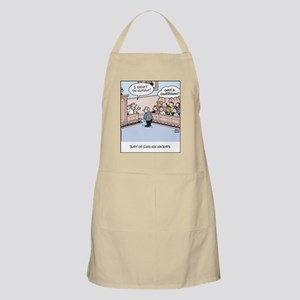 Jury of English Major Cartoon Apron