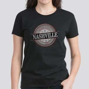 Nashville Music City-CIR-BLK T-Shirt