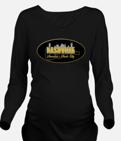 Nashville America's Music City-02 Long Sleeve Mate