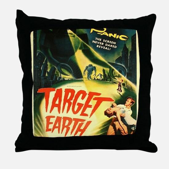 Unique Horror movies Throw Pillow