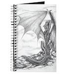 """""""Watch Dragon"""" Dragon Drawing Poster, Dragon Print"""