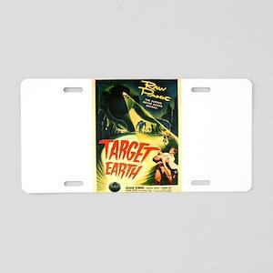 Vintage poster - Target Ear Aluminum License Plate