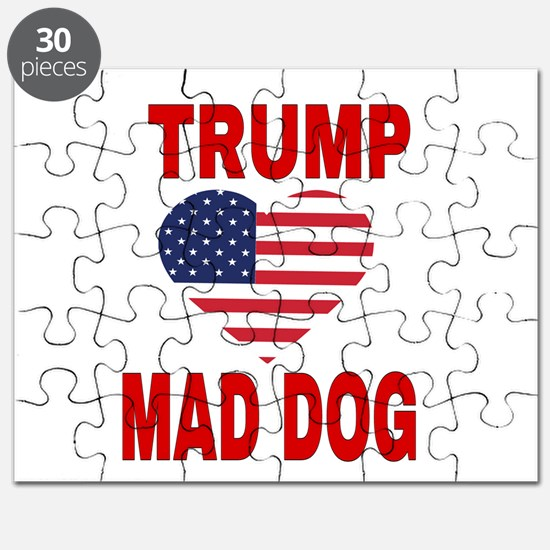 TRUMP LOVES MAD DOG Puzzle
