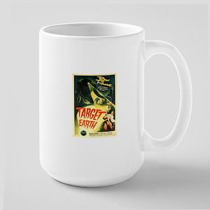 Vintage poster - Target Earth Mugs