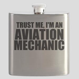 Trust Me, I'm An Aviation Mechanic Flask