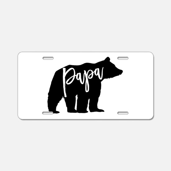 Cute Baby Aluminum License Plate